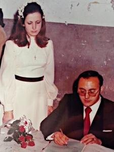Firmando en el Registro Civil